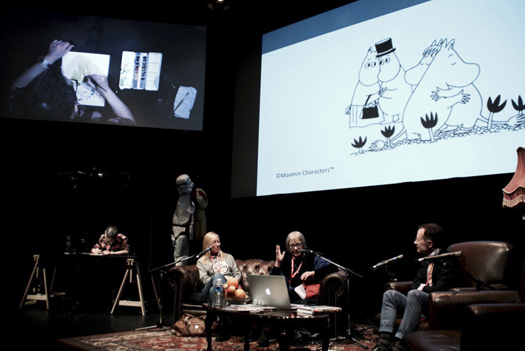 Panel on Tove Jansson photo by Sara Forsius 7